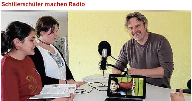 Ohrenspitzer onAir – Radio gestalten mit Schülerinnen und Schülern