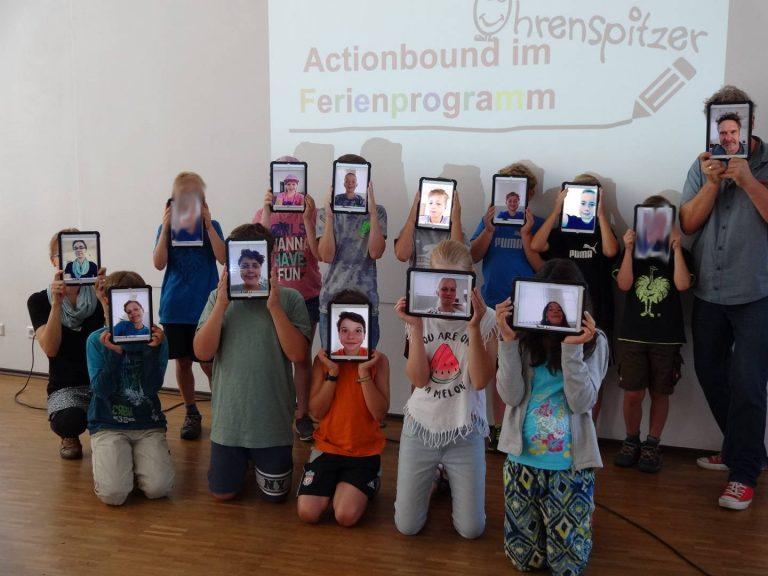 Actionbound mit Ohrenspitzer im Ferienprogramm von Böbingen